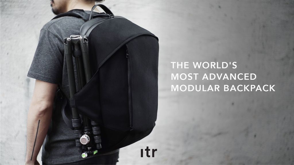 The World's Most Advanced Modular Backpack
