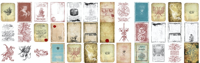 A Selection of the Printable Assets You'll Receive...
