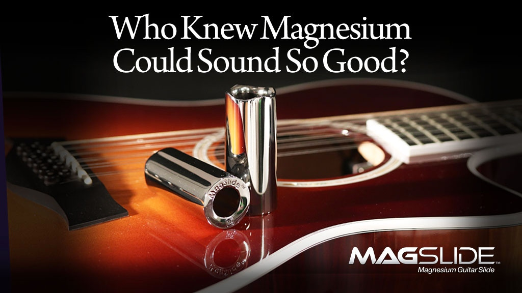 MagSlide™ Magnesium Guitar Slide project video thumbnail