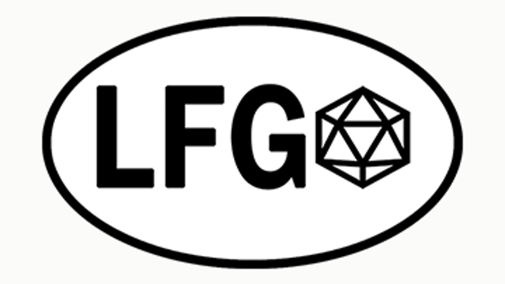 Project image for LFG Stickers (and Pins!) for Tabletop Gamers
