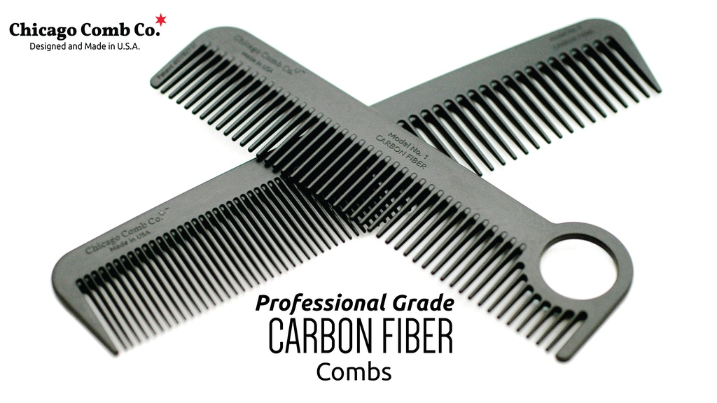 The Ultimate Carbon Fiber Hair Combs project video thumbnail