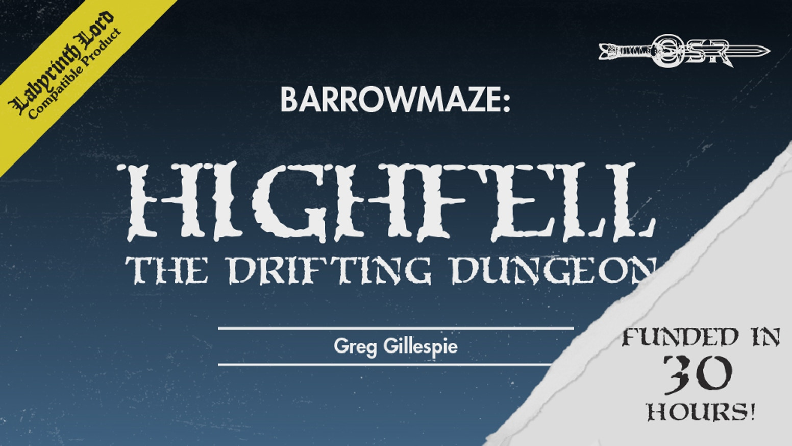 Barrowmaze: HighFell - The Drifting Dungeon is the top crowdfunding project launched today. Barrowmaze: HighFell - The Drifting Dungeon raised over $26629 from 307 backers. Other top projects include Graphic Novel : Justin Case and the Closet Monster, Where are my shoes? A personalized children's picture book!, Genesis - An Independent Feature Length Movie...