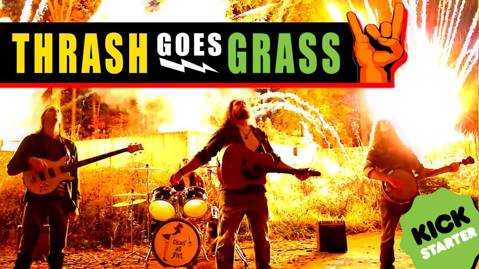 CORPORATE RECORD LABELS wanted to change our sound; we WILL NOT let them!  Help us bring THRASH GRASS to the world!