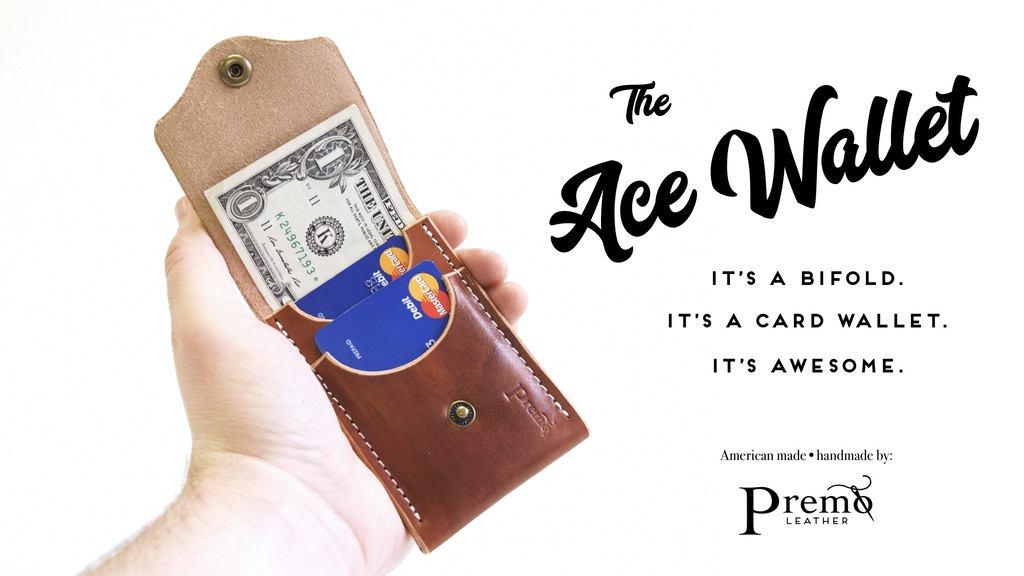The Ace Wallet Cardwallet Bifold In One By Premo Leather