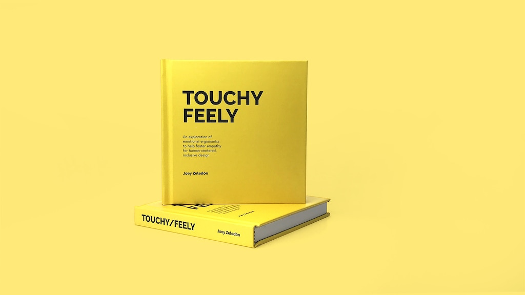 Touchy/Feely: a design book on humans, objects, and feelings project video thumbnail
