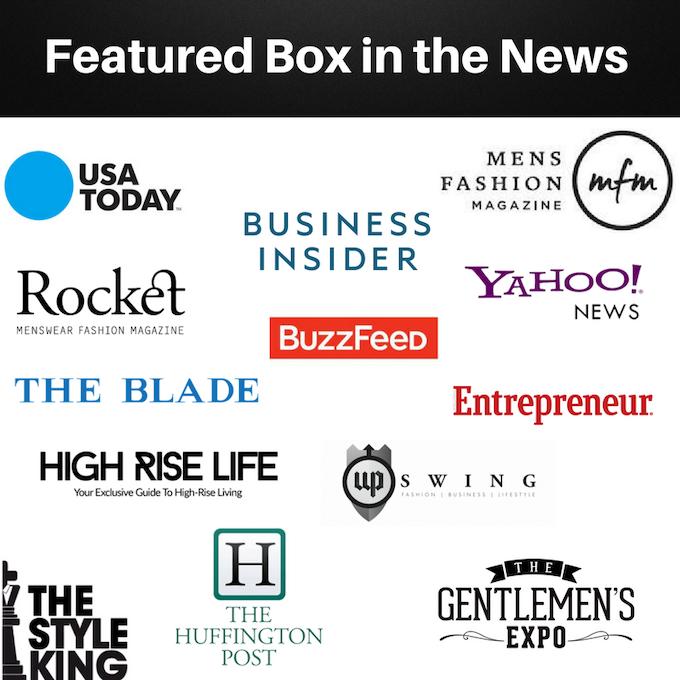 Featured Box - Best Men's Subscription Box