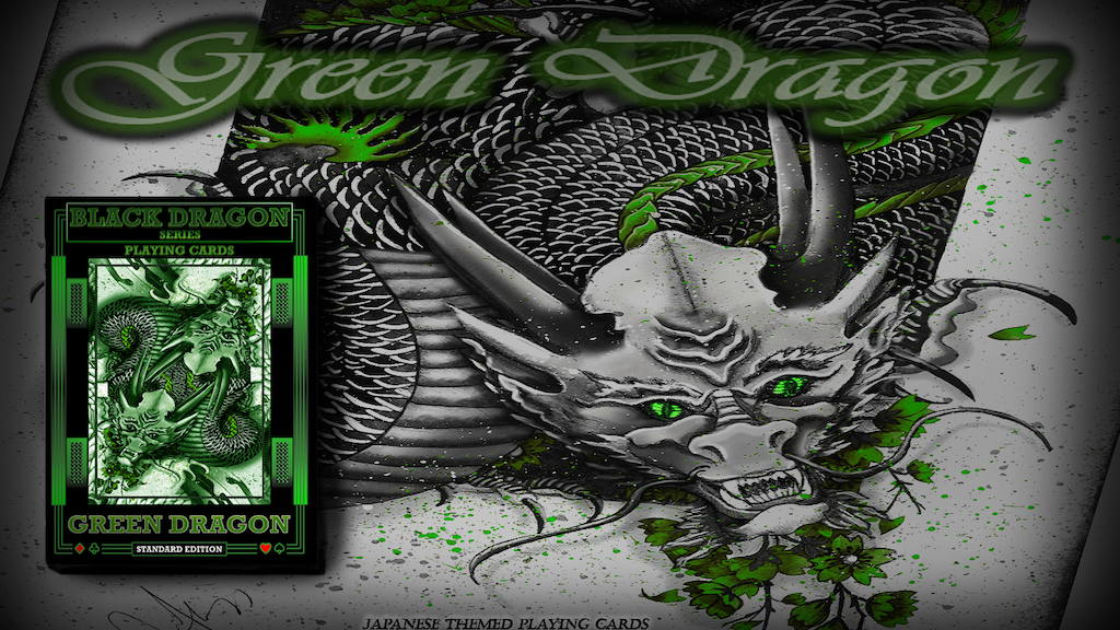 Green Dragon Playing Cards (Standard Edition) Marked Deck project video thumbnail