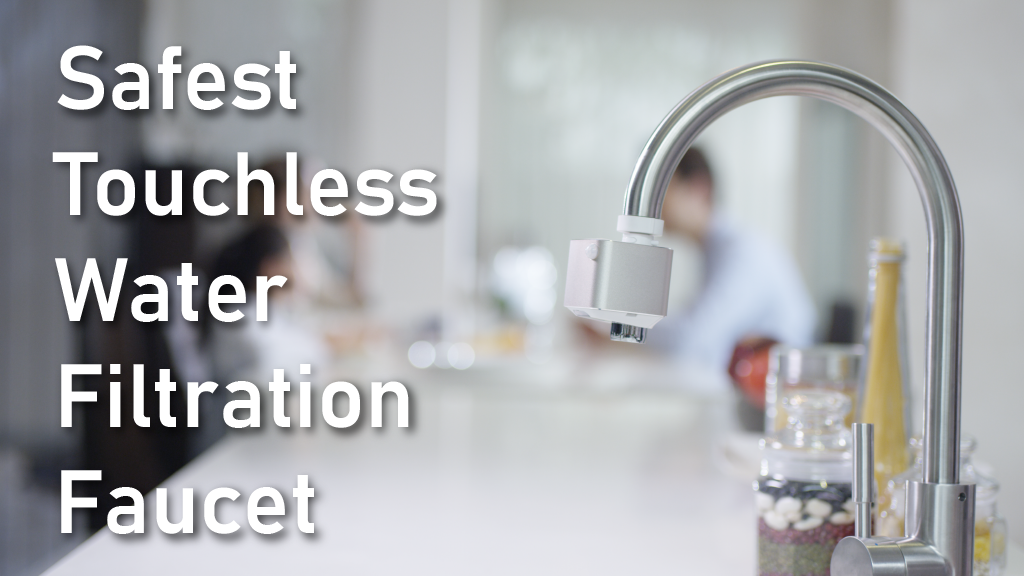 AutoWater Pro: Safest Touchless Water Filtration Faucet. $69