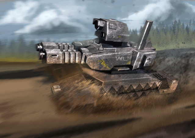 Armoured Digital Miniatures Wargame by Word Forge Games