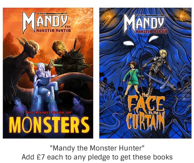 """""""Mandy the Monster Hunter"""" books"""