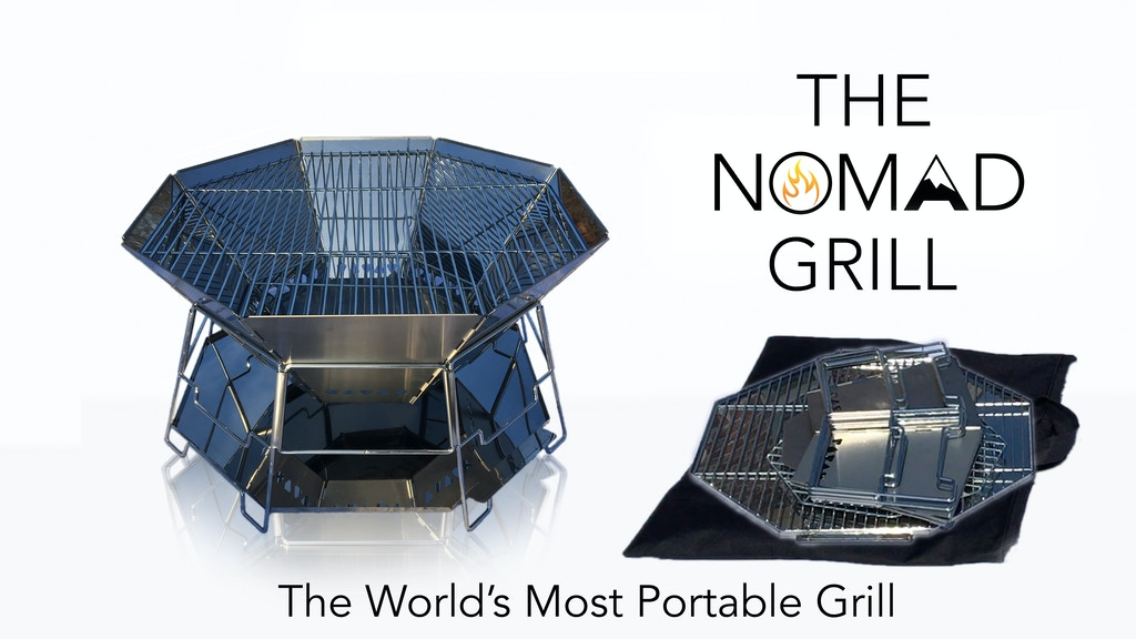 The Nomad Grill - The World's Most Portable Grill