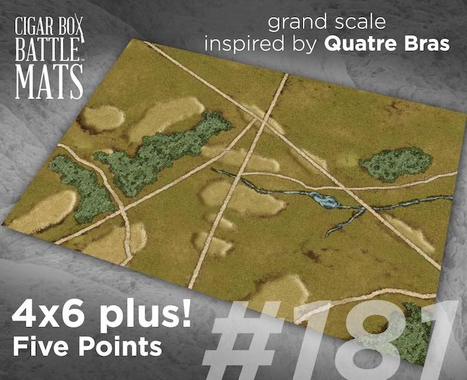 181 Five Points - Quatre Bras