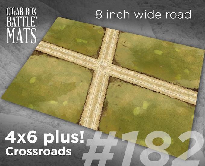 182 Crossroads 8 inch roads