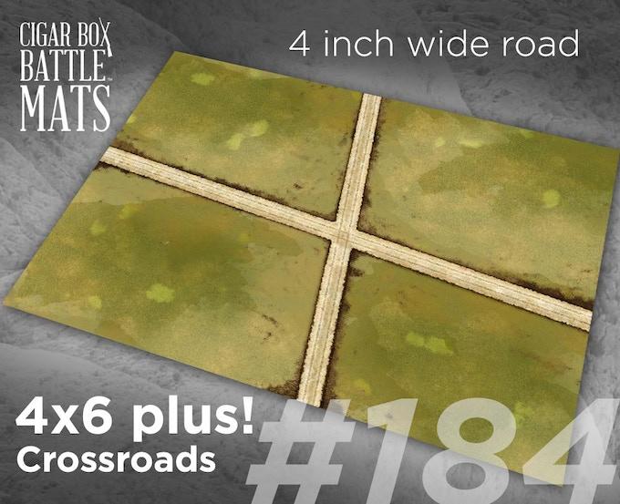 184 Crossroads 4 inch roads