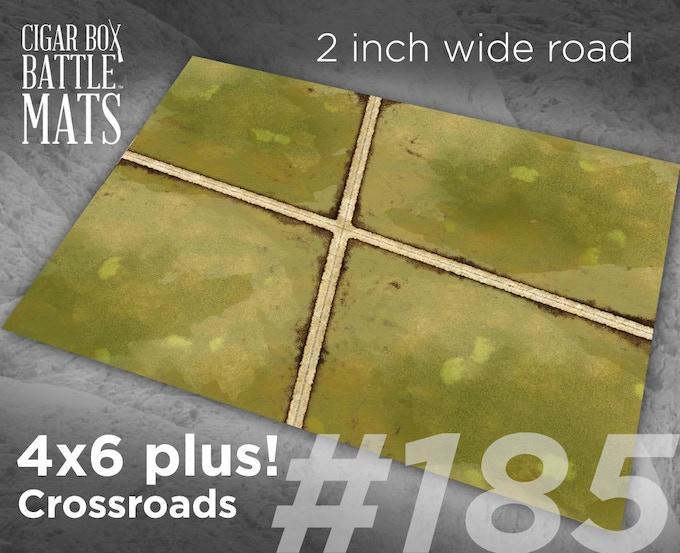 185 Crossroads 2 inch roads