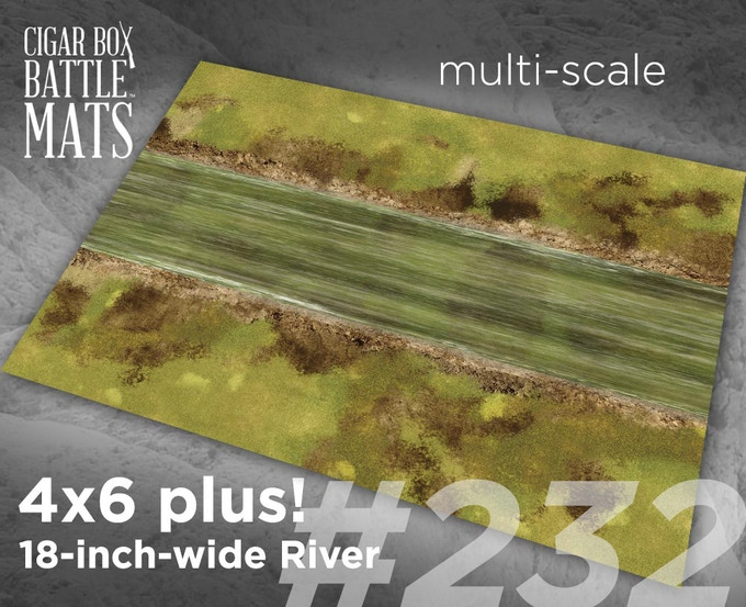 232 River 18-inch wide