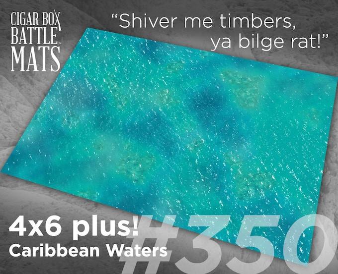350 Caribbean Waters