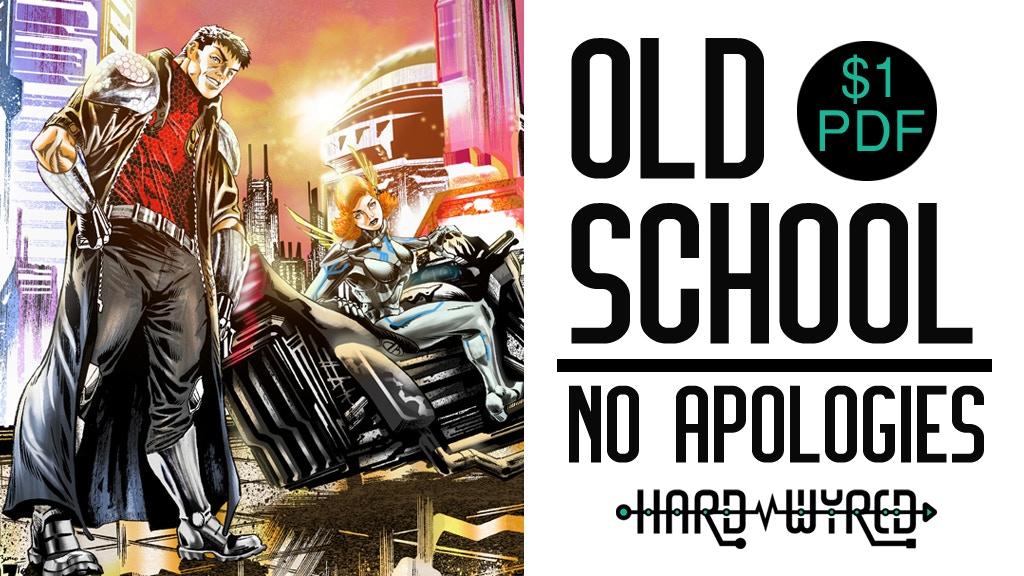 Hard Wyred #1-4: A Cyberpunk-Adventure Comic project video thumbnail