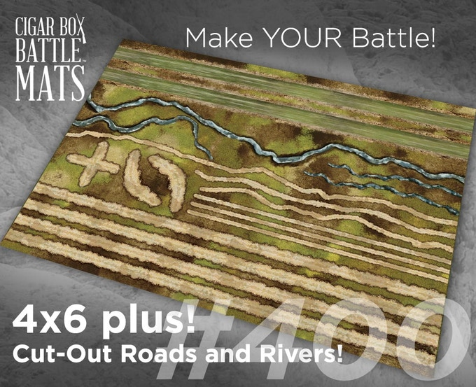 400 Cut Out Roads and Rivers
