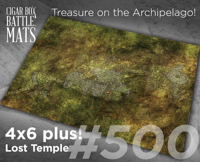 500 Lost Temple