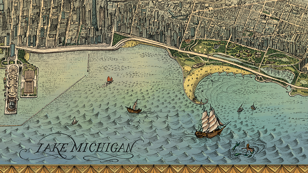 Chicago's Beautiful Lakefront, Illustrated! project video thumbnail