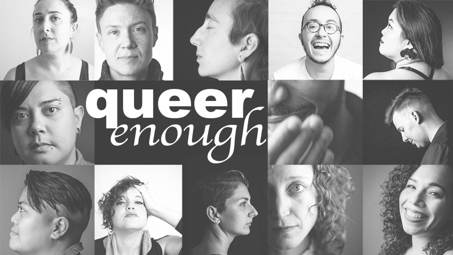 Queer Enough is a photography exhibit and portrait project about queer identity in DC.