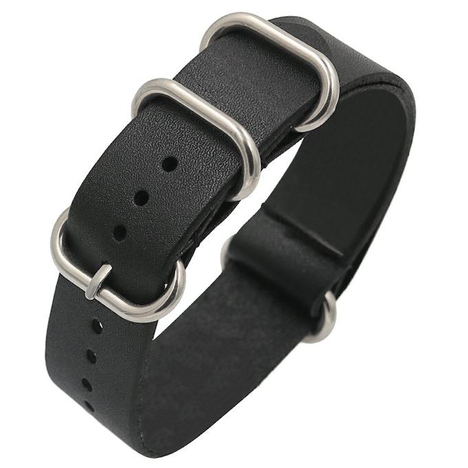 1st Stretch Goal : Genuine Leather Nato Strap (Tentative Design)