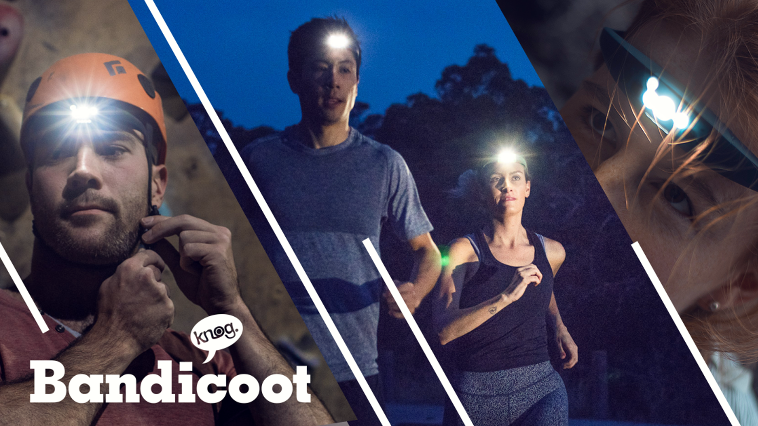 "A silicone headlamp without the bulk, the endless batteries, and the ""boring""."