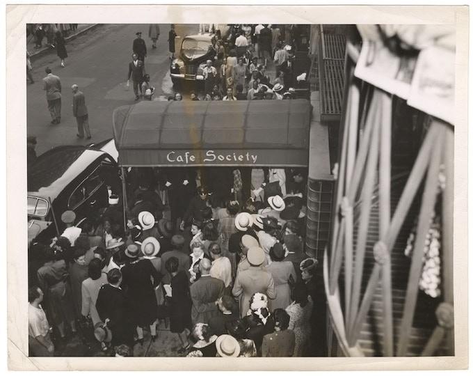 Cafe Society - New York City