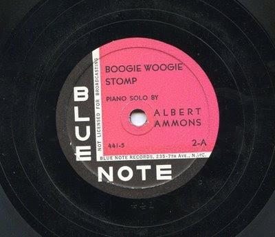 Albert Ammons - Blue Note Label