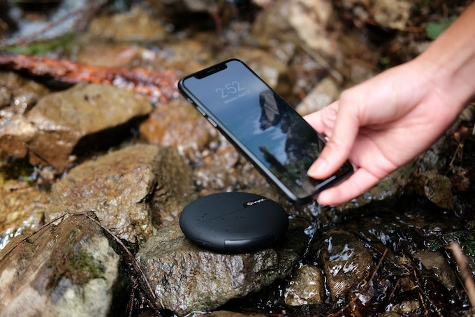 Wireless Qi charger on the GO!