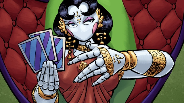 Moxana, from her Circus deck card.