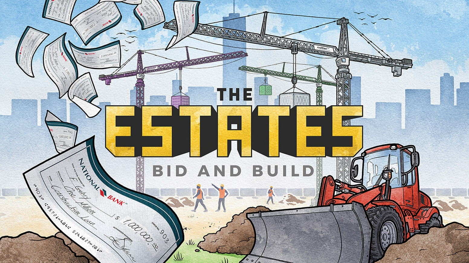 Capstone Games presents The Estates, a city-building board game from our Simply Complex line