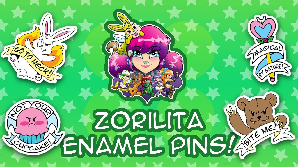 Zorilita Anniversary Limited Edition Enamel Pins