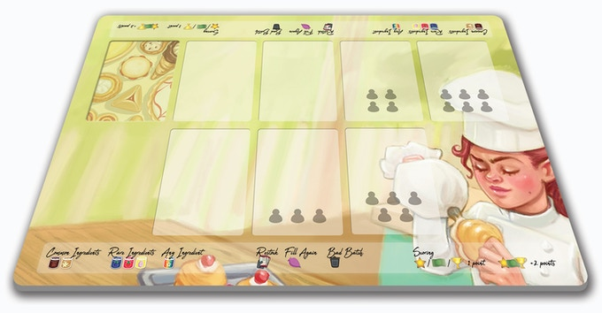 "Deluxe 15"" by 10"" cloth playmat with rubber backing!"