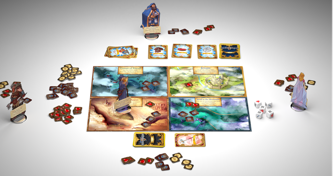 A 3 player game.
