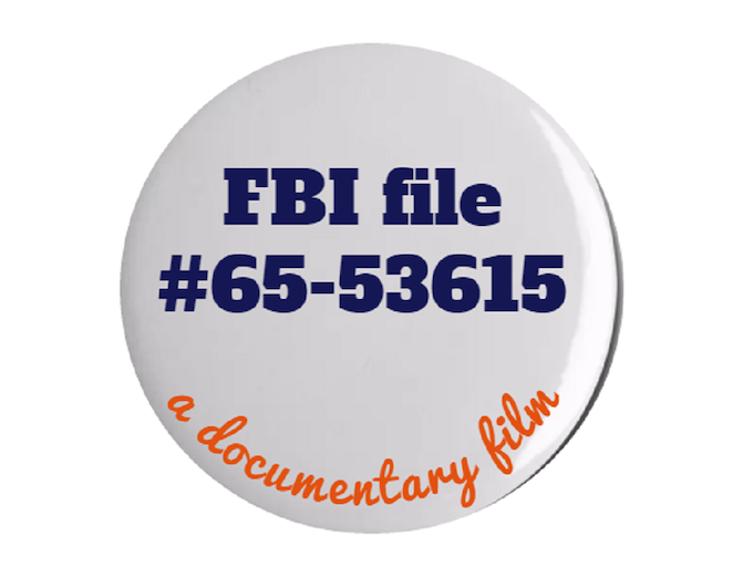 """your """" FBI file 65-53615 """" official badge"""
