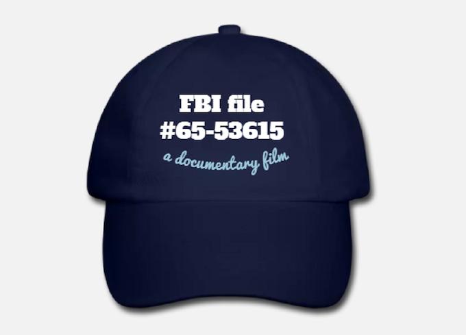 "your "" FBI file 65-53615 "" official baseball cap"