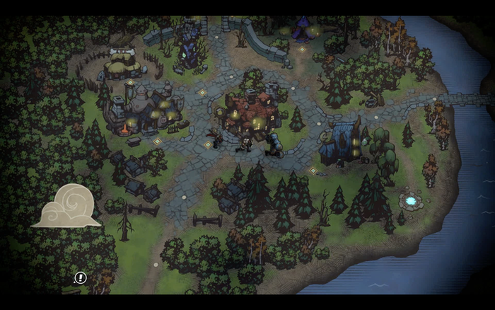 """Battle Chaser:NW """"Overworld View Example"""""""