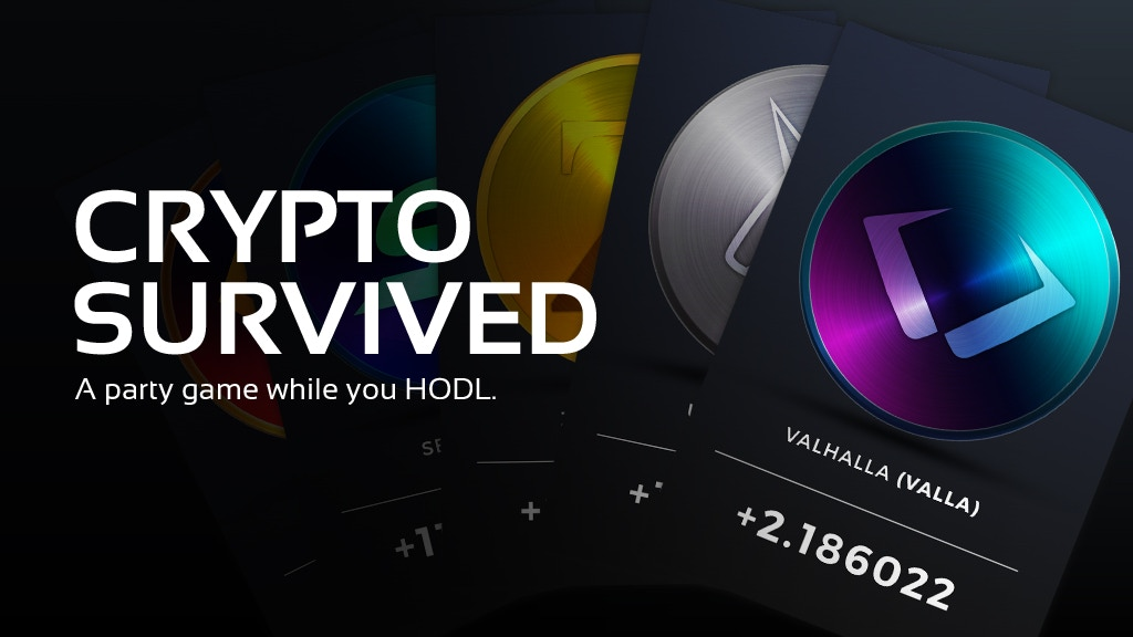 Project image for Crypto Survived: A party game while you HODL.