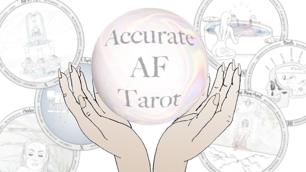 ACCURATE AF Tarot Cards...illustrated & digitally evolved project video thumbnail