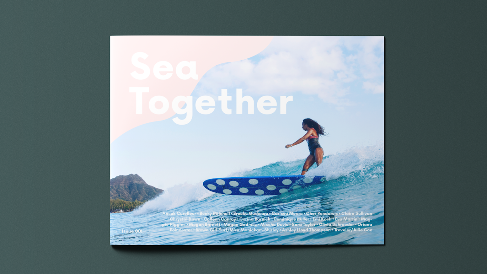 An independent publication uniting & rewriting Women's Surfing globally through writing, art, and community.