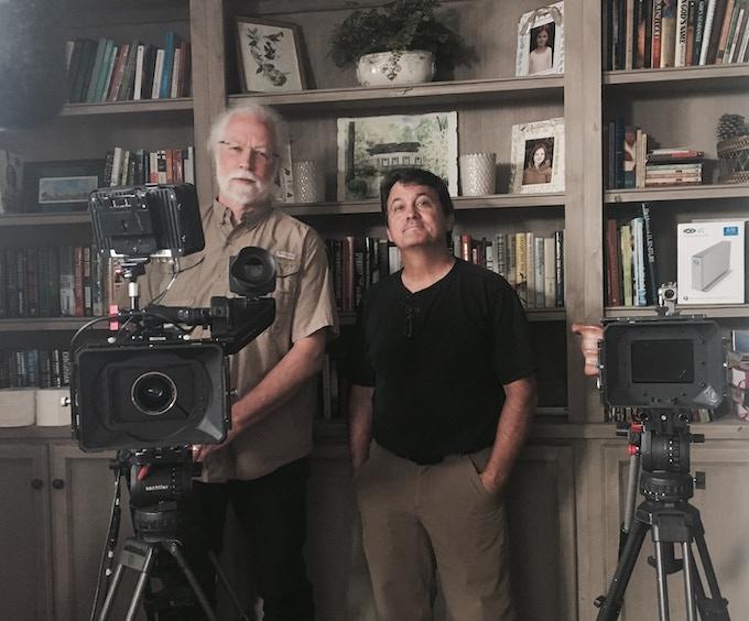 David Brower, Director of Photography, and David Bagley, Cameraman