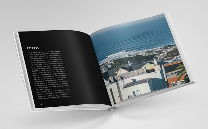 CITY SURF – Hardcover Coffee Table Book