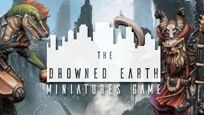 The Drowned Earth is an alternate Sci Fi tabletop miniatures game set in a land of ancient ruins, and lost technology.