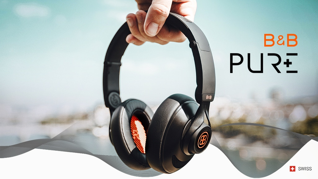 B&B PURE: customizable headphones that adjust to you project video thumbnail