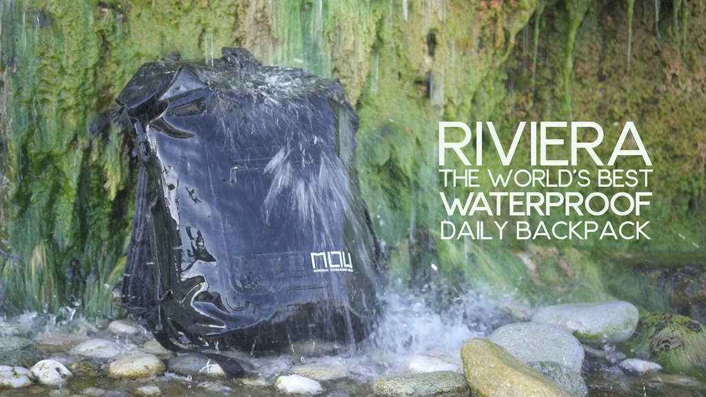 The World's Best Waterproof Daily Backpack | The Riviera project video thumbnail