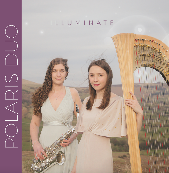 Support the Polaris Duo to record their debut album of captivating repertoire for Saxophone and Harp