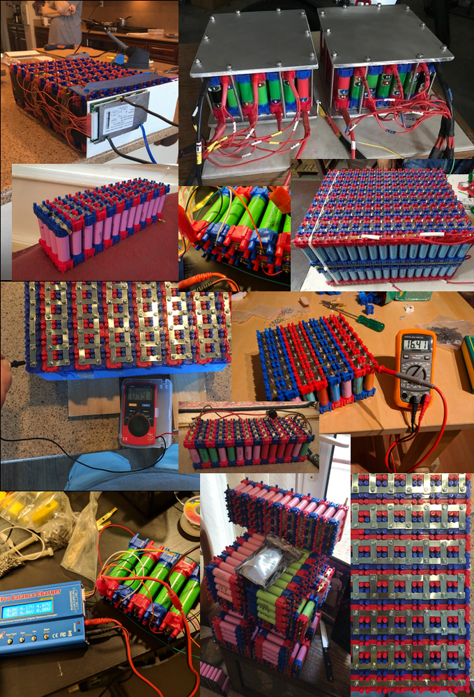 DIY Li-ion battery building kit | Make your own 18650 packs by Micah