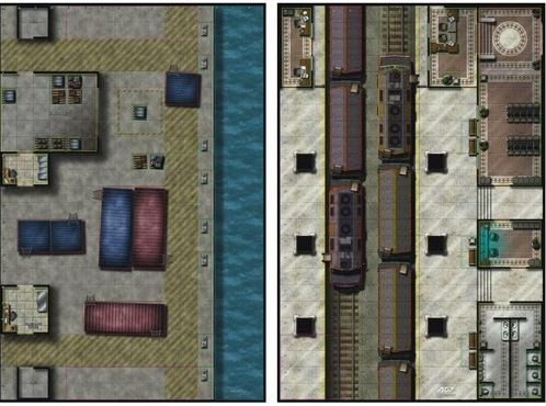 Mighty Maps 1 (The Docks/Train Station)